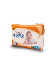 VELONA BABY DIAPERS JUMBO MEDIUM 34PCS