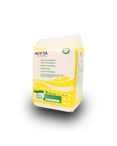 SOFTA CARE ADULT DIAPER  4PCS M
