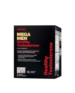 GNC MEGA MEN HEALTHY TESTOSTERONE 30 PACKS