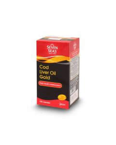 SEVEN SEAS COD LIVER OIL GOLD 100S