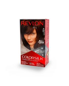 REVLON COLOR SILK 3D DARK MAHOGANY BROWN