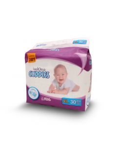VELONA BABY DIAPERS JUMBO EX LARGE 30PCS