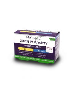NATROL STRESS & ANXIETY 30 TAB