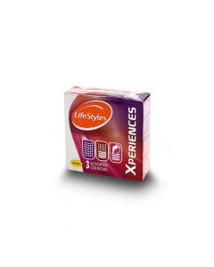 LIFESTYLES XPERIENCES CONDOMS 3S