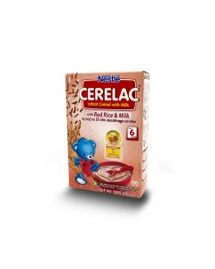 NESTLE CERELAC RED RICE & MILK 250G