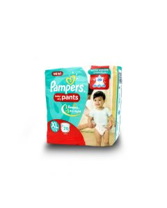 PAMPERS BABY DIAPERS DRY PANTS XL