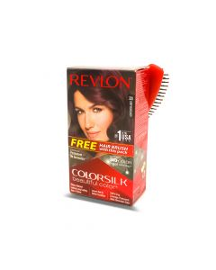 REVLON COLOR SILK  3D DEEP BURGUNDY  3DB