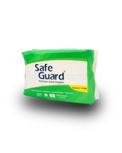 SAFE GUARD ADULT DIAPERS  4 S