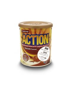 ACTION MILK POWDER CHOCOLATE - 400G