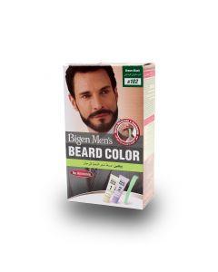 BIGEN MEN BEARD COLOR BROWN BLACK B102