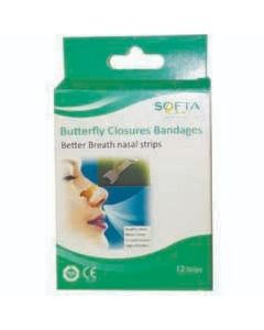 SOFTA BUTTERFLY NOSE PLASTER 12S SQ1304
