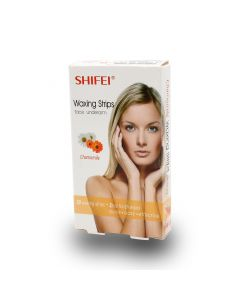 SHIFEI FACE WAXING STRIPS CHAMOMILE 20S