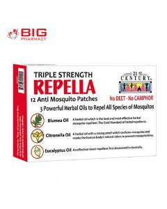 21 ST CENTURY REPELLA MOSQUITO PATCH 12S