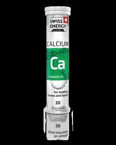 SWISS ENERGY CALCIUM + VIT D3 TABS