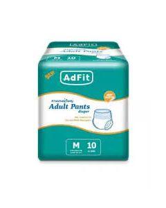 ADFIT ADULT PANT DIAPER AF M 10S