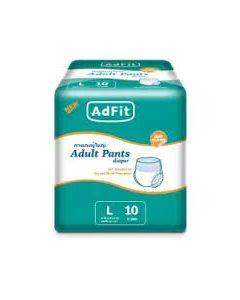 ADFIT ADULT PANT DIAPER AF L 10S
