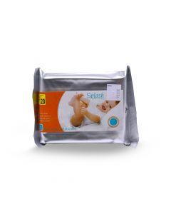 SPLASH BABY WIPES 15S