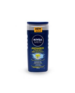 NIVEA MEN POWER FRESH SHOWER GEL 250ML