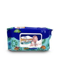 VELONA WET WIPES WITH FREGRANCE 70PCS