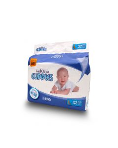 VELONA BABY DIAPERS JUMBO LARGE 32PCS