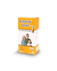 BUTOLICE HEAD LICE SPRAY 50ML