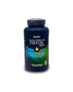 GNC TRIPLE STRENGTH FISH OIL 240