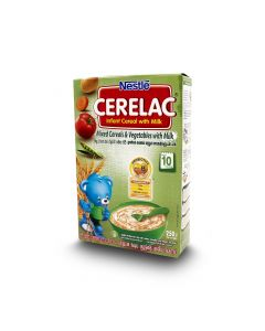 NESTLE CERELAC MIXED CEREALS & VEG 250G