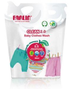 FARLIN CLEAN 2.0 BABY CLOTHES WASH 800ML CB-10005