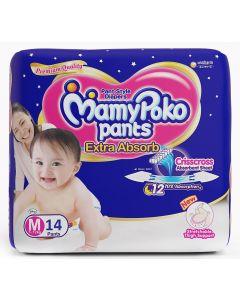 MAMY POKO DIAPER PANT MEDIUM 14 S