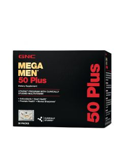 GNC MEGA MEN 50 PLUS 30PACK 208611