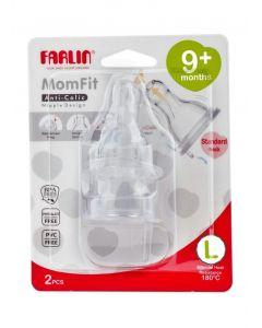 FARLIN STRETCHY ANTI-COLIC NIPPLE AC-21011 L