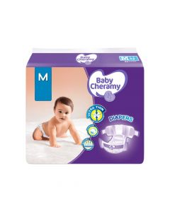 BABY CHERAMY BABY DIAPERS (M) 12S