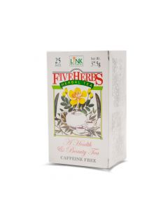LINK FIVE HERBS TEA BAGS 37.5G     25 S