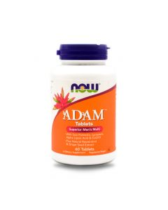 NOW ADAM MENS MULTIVITAMIN TAB 60S