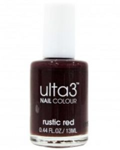 ULTA3 NAIL POLISH RUSTIC RED
