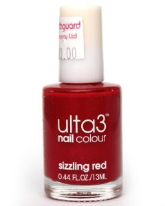 ULTA3 NAIL POLISH SIZZLING RED