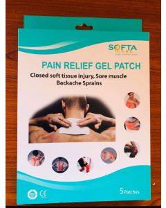 SOFTA PAIN RELIEF GEL PATCH 5S SQ1306
