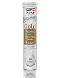 SWISS ENERGY GOLD Vitamins and Minerals + Lutein