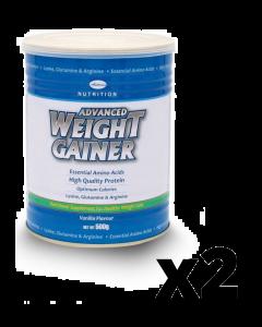 ADVANCED WEIGHT GAINER VANILA FLAVOUR MILK POWDER 500G BUY 2 TIN & GET 50% OFF ON SECOND ONE